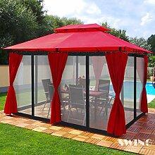 Swing & Harmonie Luxus Pavillon 3x4m Minzo -