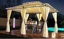 Swing&Harmonie Luxus-Pavillon Minzo: Braun