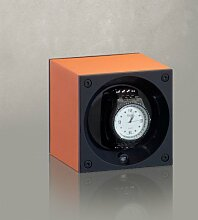 Swiss Kubik Uhrenbeweger Alu Orange