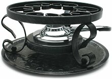 Swissmar Wrought Iron Rechaud with Fondue Burner by Swissmar