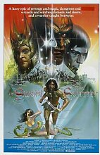 Sword And Sorcerer Poster 02 Metal Sign A4 12x8 Aluminium