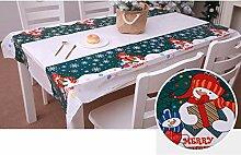 Swteeys Weihnachten Einweg Tischdecke Festliche