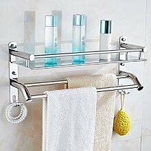 SXDERTY-stehendes Regal Duschregal Badezimmerregal