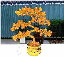 SXGKY Künstliche Cedar Bonsai-Bäume Geld Baum