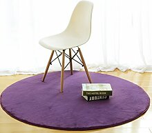 SXMDITAN YXHZ® Runde Teppiche Simple Bedroom