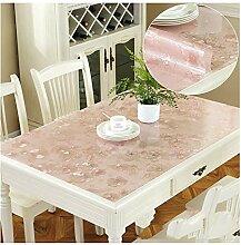 Sxrkrcyy Transparente Tischdecke Durchsichtig