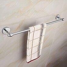 SXTMJG Turm Kleiderbügel Kupfer Handtuchhalter Einzelstab Badezimmer Handtuchhalter Badezimmer Handtuchhalter Handtuch Hardware Wandbehang (Design : A)