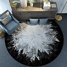 SXY Runde Teppich Nordic minimalistischen modernen