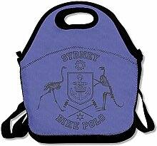 Sydney Bike Polo53 Lunch Bag Lunch Tote