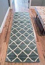 Sydney Lulu's Gitter Modern Ikat Teppich,