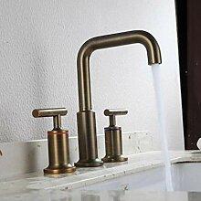 syhua Alle Kupfer gebürstet separate Waschbecken