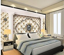 Sykdybz Home Decoration Fernseher Sofa Hintergrund 3D Individuelle Tapeten Foto Wandbilder Tapeten Malerei Wallpaper-250Cmx175Cm