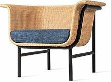 SYLOZ Nordic Seil gesponnenes Einzel Sofa Kreative