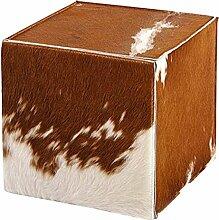 Syltiges.de GbR Edler Sitzhocker, 41x41x41 cm, aus