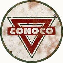 Sylty Conoco Gasstation Schild Man Cave Garage