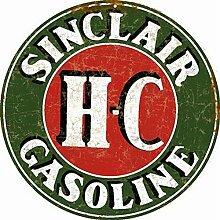 Sylty Sinclair H-C Gasoline Man Cave Garage Auto