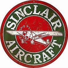 Sylty Sinclair Luftfahrzeug Man Cave Garage Auto
