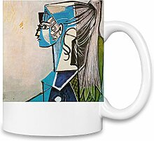 Sylvette Picasso Painting Kaffee Becher