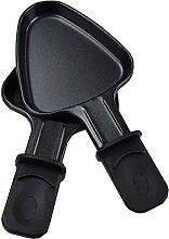 Syntrox Germany 2 Design Universal Grill Pfännchen für Raclette dreieckig