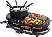 Syntrox Germany 3 in 1 Raclette-Grill-Fondue