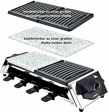 Syntrox Germany Edelstahl Design Raclette Genf 3