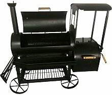 Syntrox Germany Smoker S-2 Lok de Luxe Barbecue