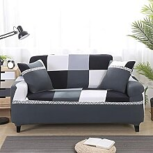 SYOUCC Sofabezug Sofaabdeckungen Streifen gedruckt