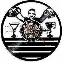 syssyj 1 Stück Barkeeper Service Vintage Uhr