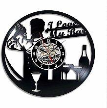 syssyj Handgemachte ich Liebe Meine Bar Vinyl