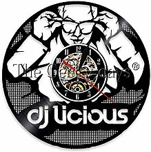 syssyj Vinyl Schallplatte Wanduhr 1 Stück DJ