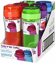 System 21478 Coffee to go Becher PP, 49 cc, mehrfarbig