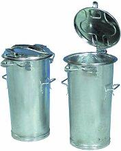 System-Mülleimer, Mülltonne mit Bügel 50L