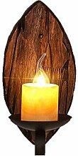 SYXYSM Wandlampe, im amerikanischen Stil Retro