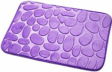 SYY Pebble Memory Foam Badematte Teppich Fußmatten Teppich (I)
