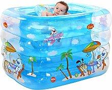SYYCY Aufblasbares Schwimmbecken für Babys,