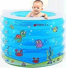 SYYYC Schwimmbecken für Babys, aufblasbar, Pool