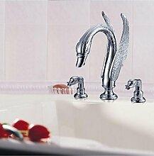SZ 2handles chrom Waschbecken Wasserhahn für Badezimmer–GRATIS VERSAND (s-1003001)