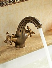 SZ Individuelle Waschbecken Armaturen Antik, Design inspiriert–Messing antik Finish Wasserhahn
