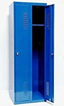 SZ METALL Spind 180 x 60, blau Türanschlag rechts, blau