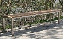 Szagato Sitzbank BxTxH: 100x30x40cm, Edelstahl
