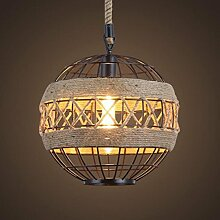 SZH&DENG Retro hängende Lampen-Personality Loft