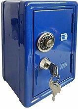 szlsl88 Mini-Tresor, Safe mit Schlüsseln,