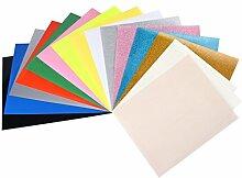 T-Shirt-Transferpapier, Glitzer und PU Heat Press,