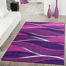 T&T Design Designer Teppich Toledo Modern Meliert