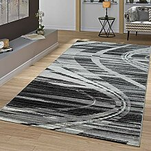 T&T Design Moderner Teppich Wohnzimmer Mit Wellen