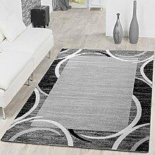 T&T Design Teppich Modern Preiswert mit Bordüre