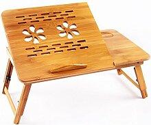 T & Z Klapptisch Bamboo Laptop Tischfaltung