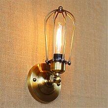 T-ZBDZ Antike europäische Wandlampe der Wandlampe
