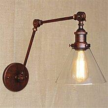 T-ZBDZ Im Freien antike europäische Wandlampe der