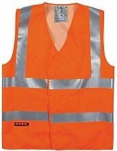 T2S GILETHAROU1OF2L Weste nicht Leuchte, Orange, Orange, GILETHAROU1OFXL